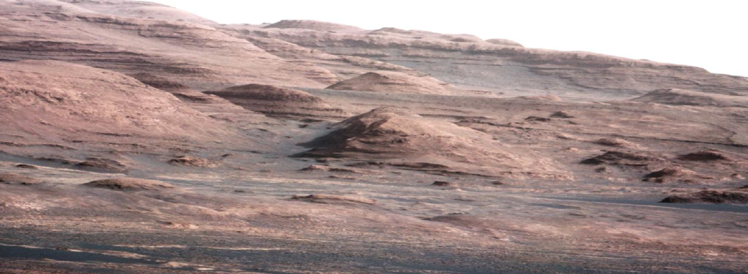 Layers at the Base of Mount Sharp on Mars